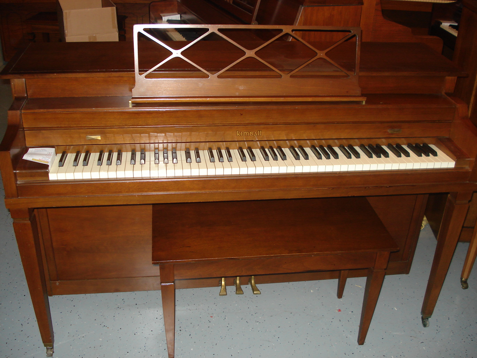 1961 Kimball Spinet 36 Quot